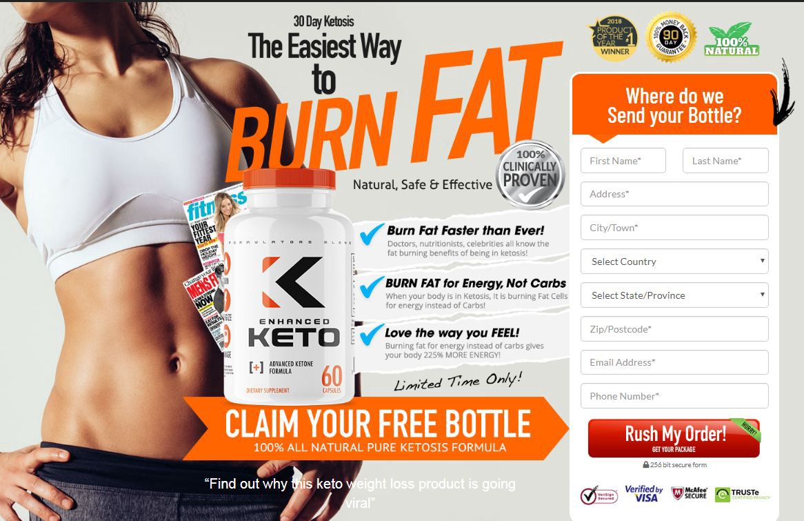 Enhanced Keto Canada : Diet Pills, Trial Benefits, Price & Buy